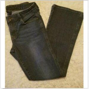 Calvin Klein Women Boot-cut Jeans Size 8 Blue